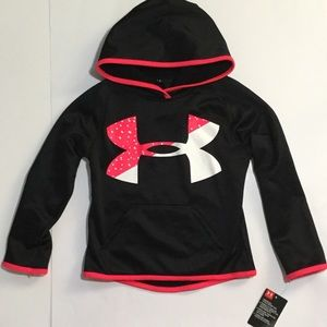 NWT Under Armour girls hoodie size 4